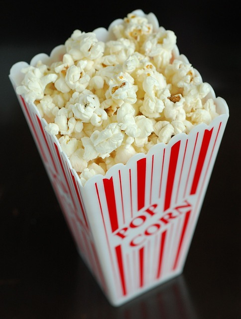 Microwave Popped Popcorn